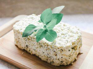 beautiful homemade feta cheese