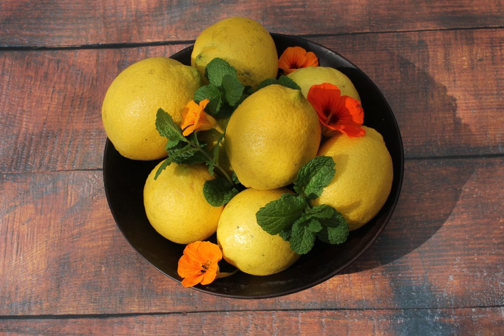 Lemon & Peppermint cordial