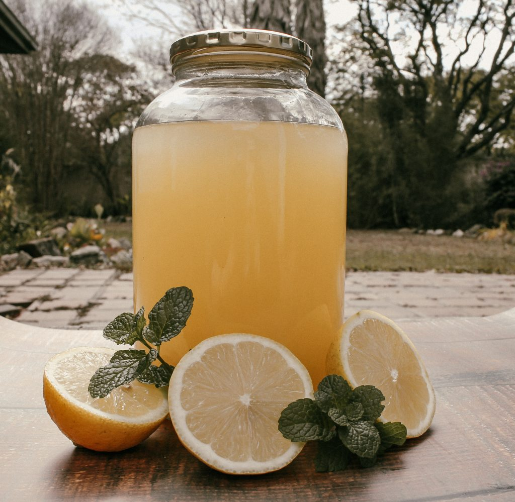 sunshine and lemon cordial