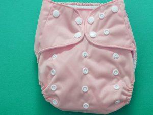 pink pocket nappy